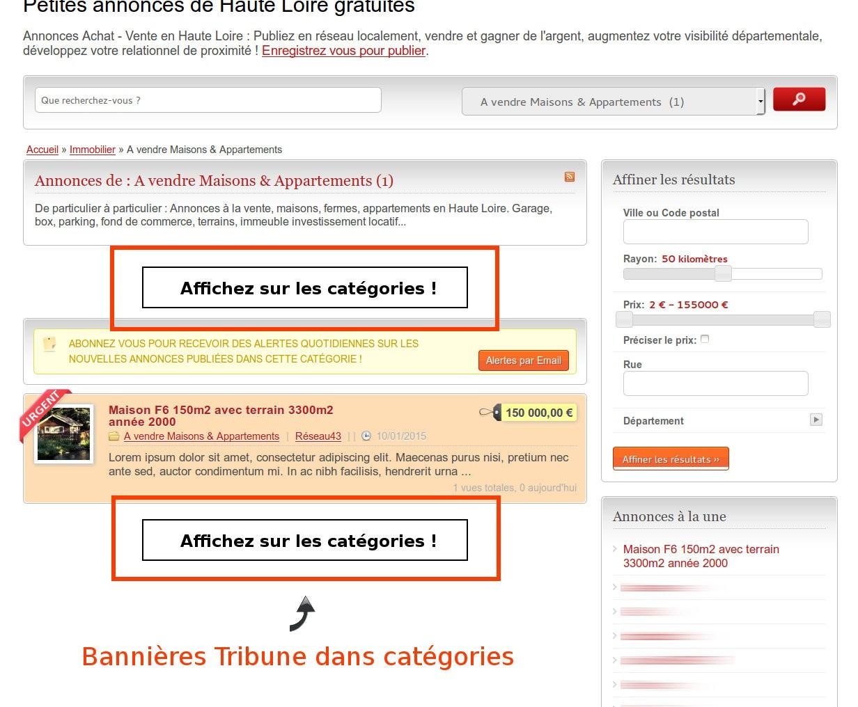 Communication publicitaire en Haute Loire