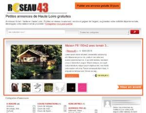 Petites annonces en Haute Loire Urgent